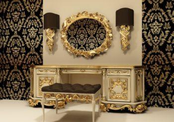 Мебельный декор из искусственного дерева